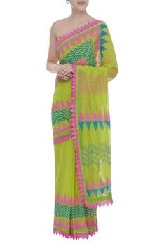 Saree With Unstitched Blouse