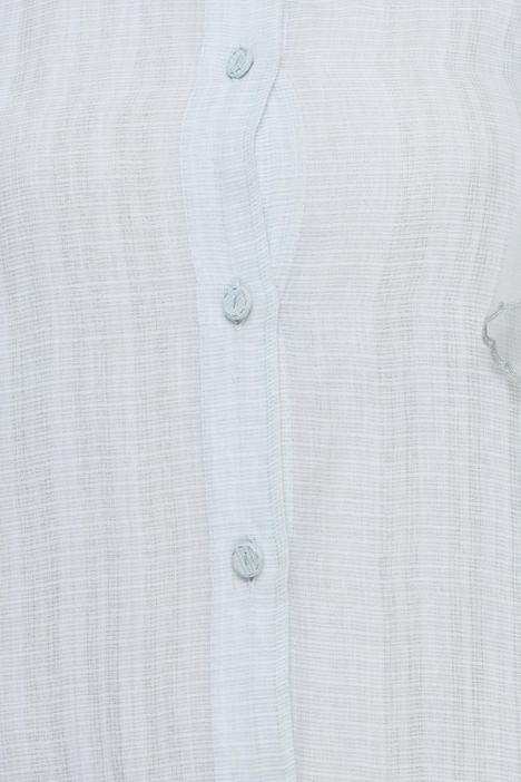 Ruffle Detail sheer Long Jacket