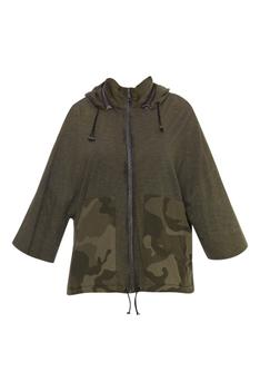 Hoodie jacket with side pockets
