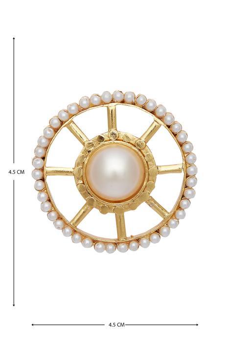 Circular bead studs