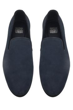 Loafers with block heels