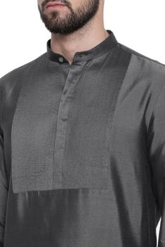 Pintuck kurta with churidar
