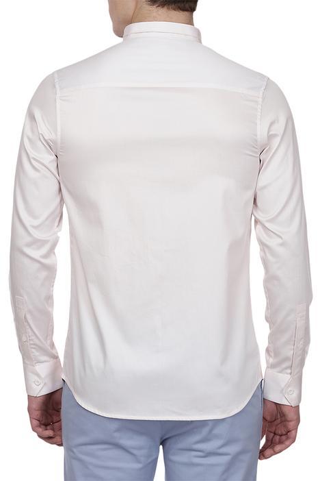 Color Block Panel Shirt