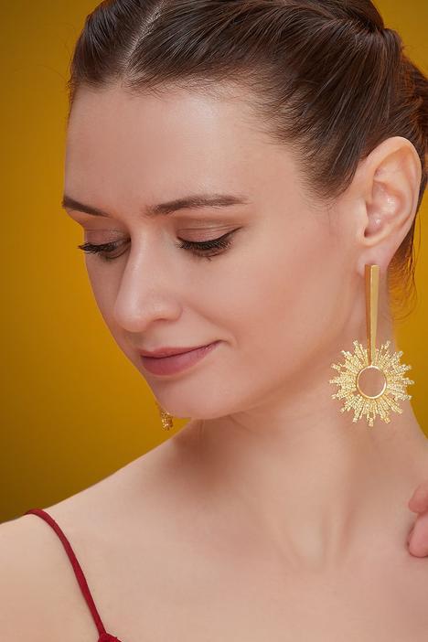 Textured Spike Earrings