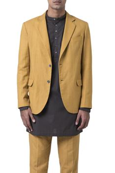 Cotton blazer jacket