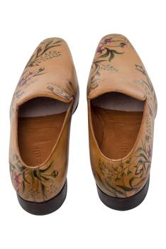 Painted Loafer Shoes