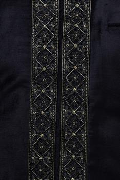 Velvet Embroidered Bandi