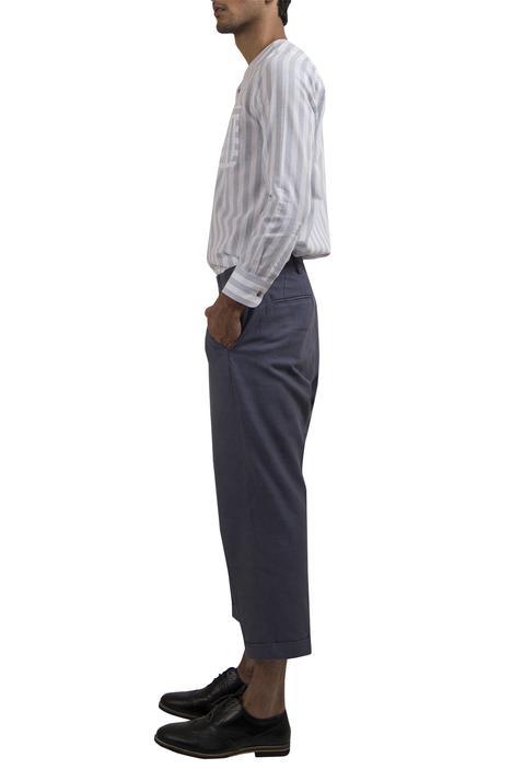 Cotton Stripe print shirt