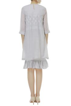 Chikankari Embroidered Dress