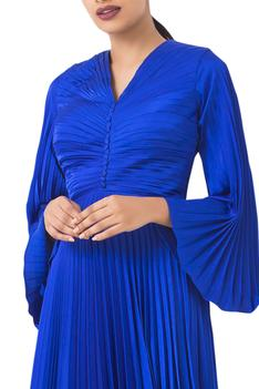 Pleated Gown