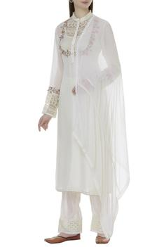 Hand embroidered kurta set