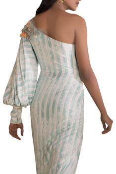One Shoulder Tunic With Pants