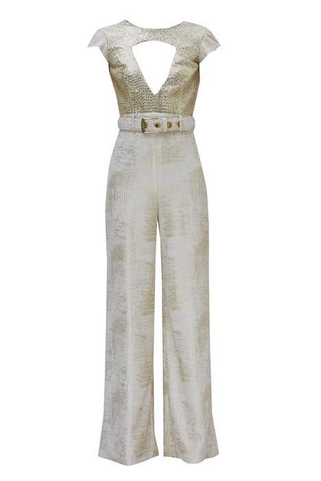 Embellished Cutout Jumpsuit