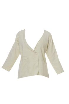 Linen Double Breasted Blazer