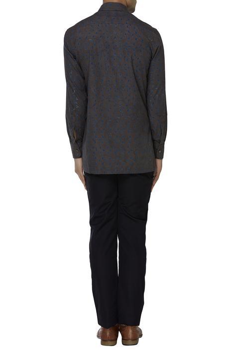 Handwoven organic cotton shirt