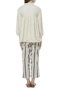 Shirt Tunic with Striped Pant