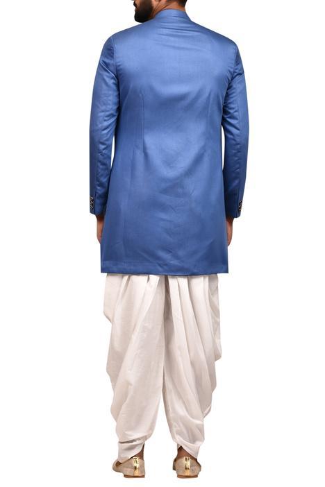 Sherwani with Draped Pants