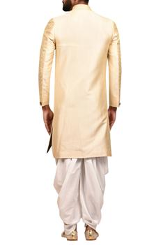 Sherwani with Draped Pants