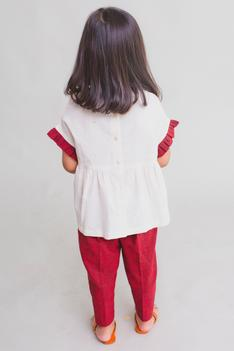Ruffle Top with Pants