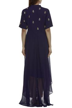 High Low Embellished Kurta