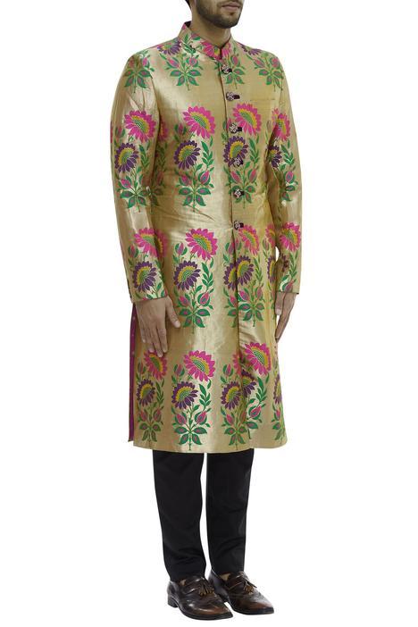 Banarasi Silk Sherwani