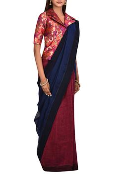Linen Saree with Blouse