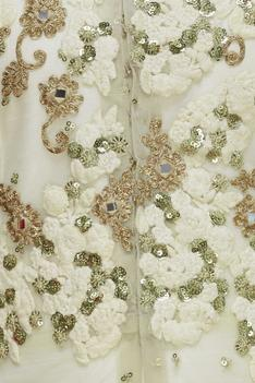 Embroidered Jacket with Anarkali