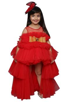 High Low Frill Gown