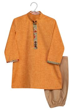 Printed Jacket Kurta Set