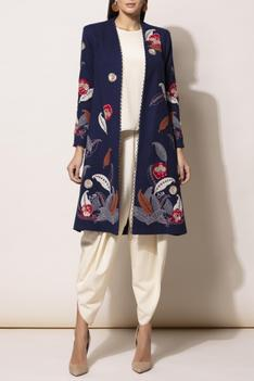 Embroidered Wool Jacket