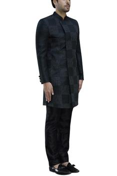Embroidered Sherwani with Trousers