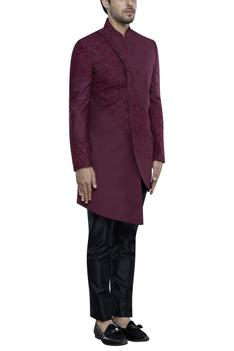 Asymmetrical Sherwani Set