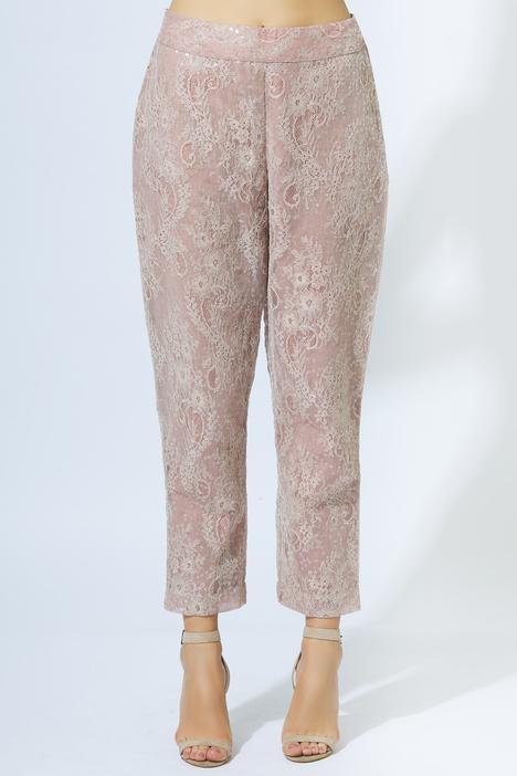Peplum Top Pant Set