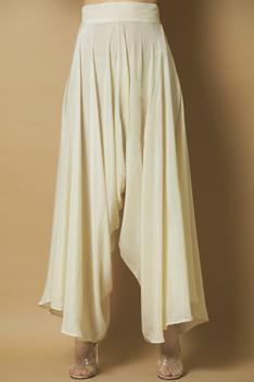 Asymmetric Cape Pant Set