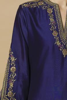 Chanderi Kurta Sharara Set