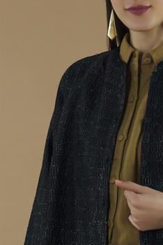 Silk Textured Jacket