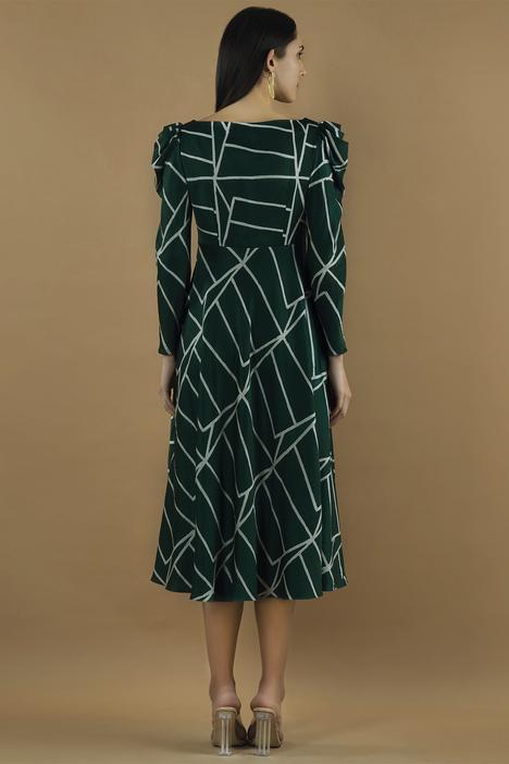 Painted Midi Dress