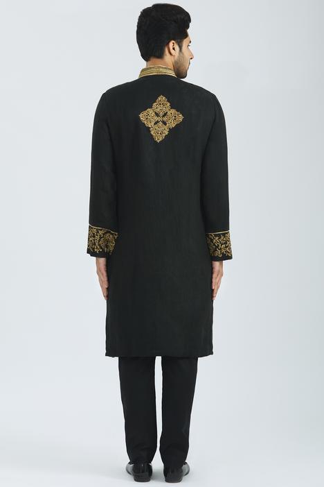 Organic Linen Sherwani