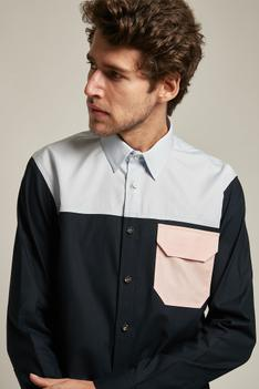 Colour Block Shirt