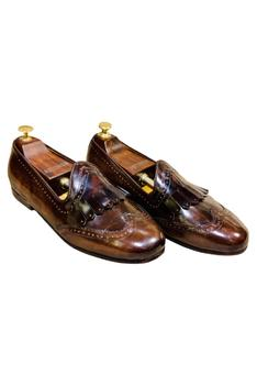 Brogue Fringe Loafers