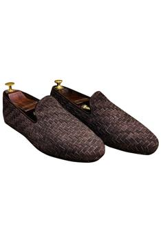 Textured Loafers