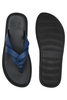 Leather Strappy Flats