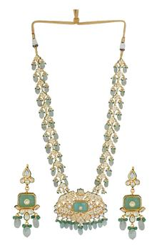Kundan Long Necklace Set
