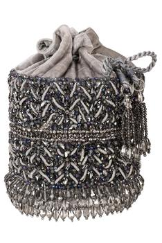 Velvet Embellished Bag