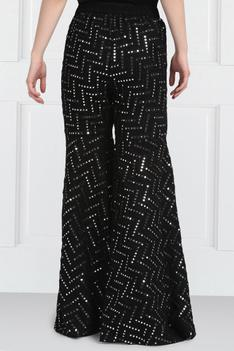 Embellished Sharara Pants
