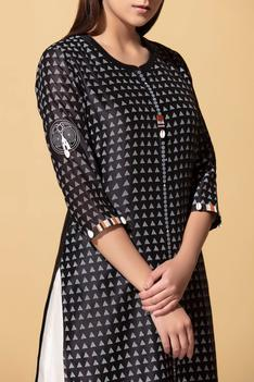 Chanderi Printed Tunic