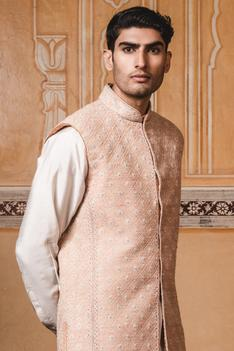 Embroidered Bandhgala with Kurta