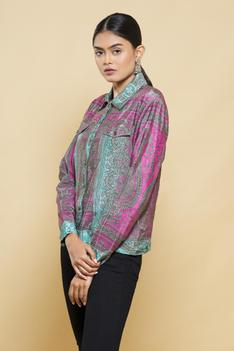 Silk Crepe Jacket