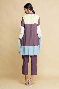 Colorblock Tunic with Inner