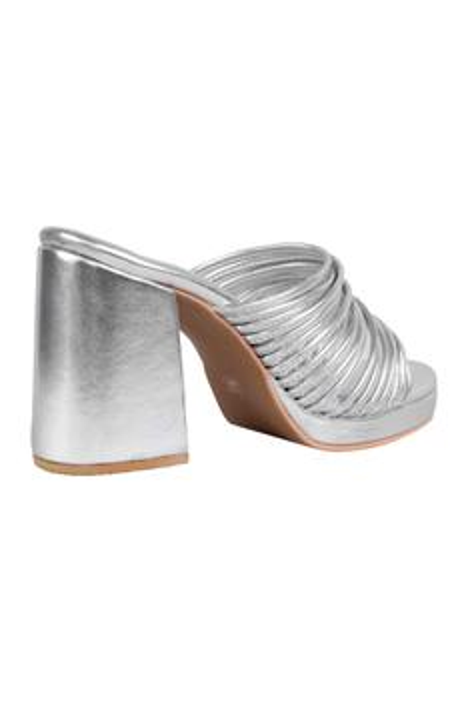 Crete Open Toe Block Heels